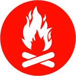 Fire Building - Red